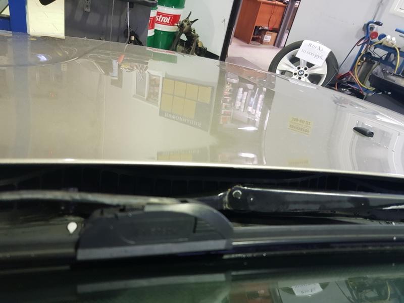 Ремонт механизма стеклоочистителей BMW